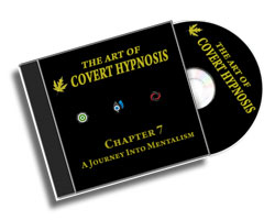 The Art Of Covert Hypnosis CD7